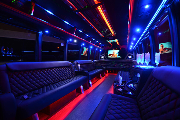 40 Person Party Bus Rental Dallas