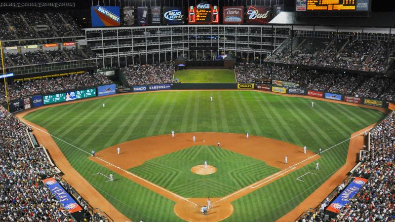 Party Bus Service Globe Life Park Dallas